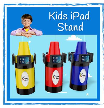 Kids iPad Stand - Krayon Kisok