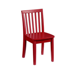 Chair - Red Solid Wood