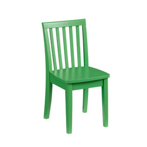 Chair - Green Solid Wood