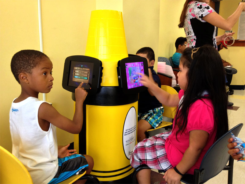 innovative iPad stands for pediatrician