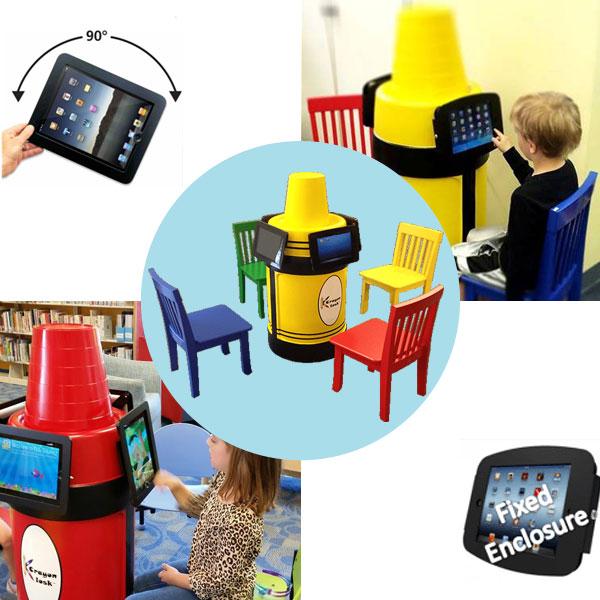 Krayon Kiosk - iPad stand station