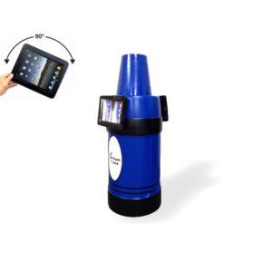iPad Kiosk Holder (2) 180 Opposite Blue