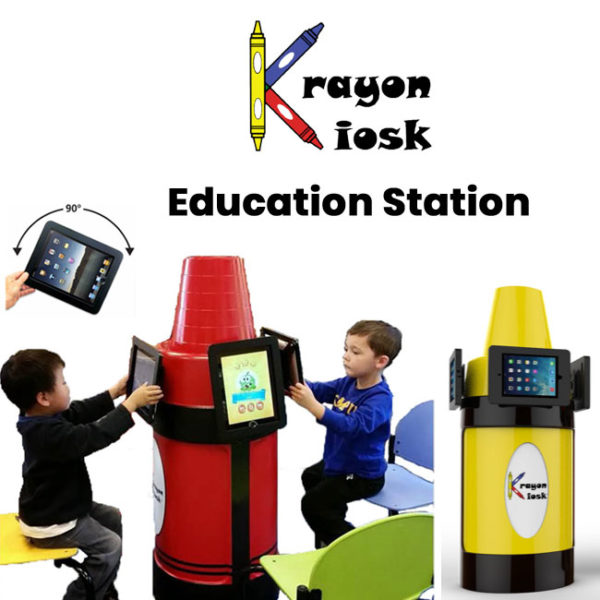 Krayon Kiosk 3 iPad Holder