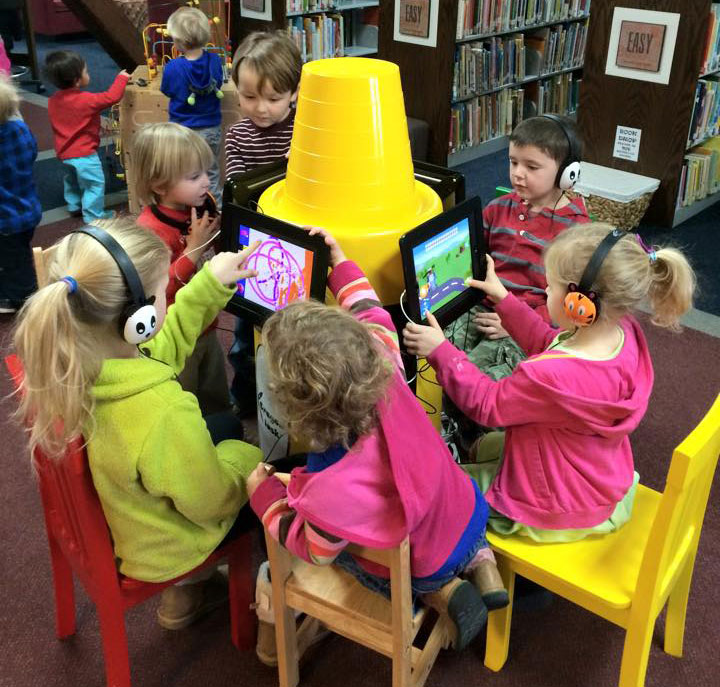 Reading Apps and iPad Kiosk Stands for Kids