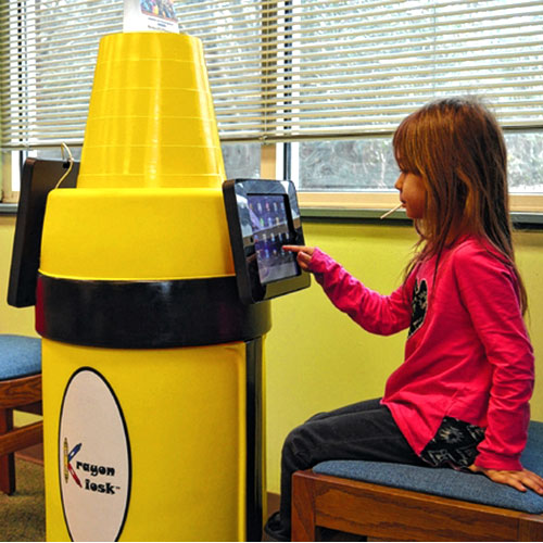 krayion-kiosk-ipad-station-at-Health-Club-Childcare-Rooms