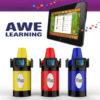 (3) Tablet Holder Kiosk Awe Early Literacy